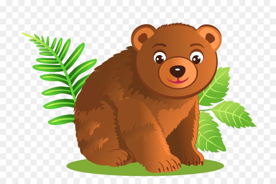 Медведь картинка нарисованный
