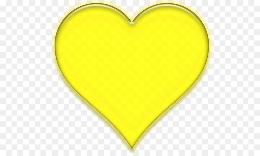 желтое сердце картинка цвета, сочетание