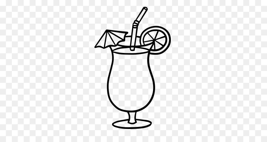 Картинки раскраски коктейль