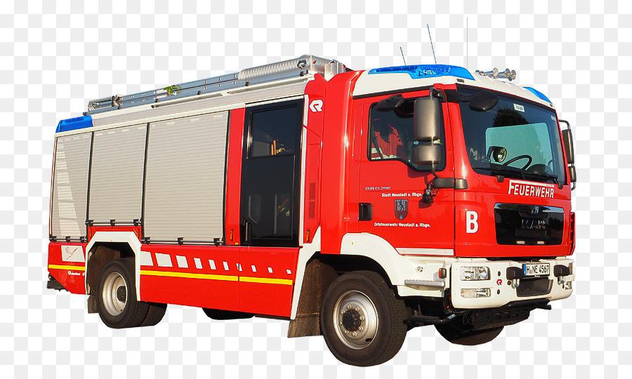 Картинка на прозрачном фоне пожарная машина