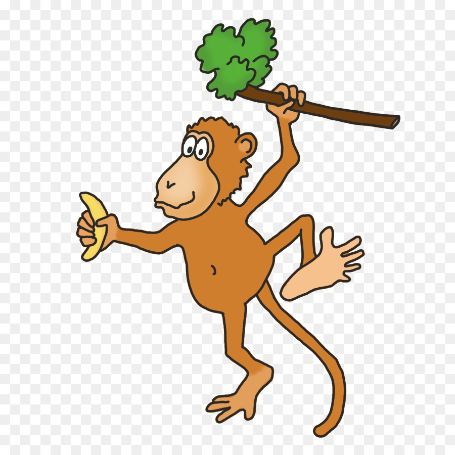 Открытка, смешные рисунки про обезьян