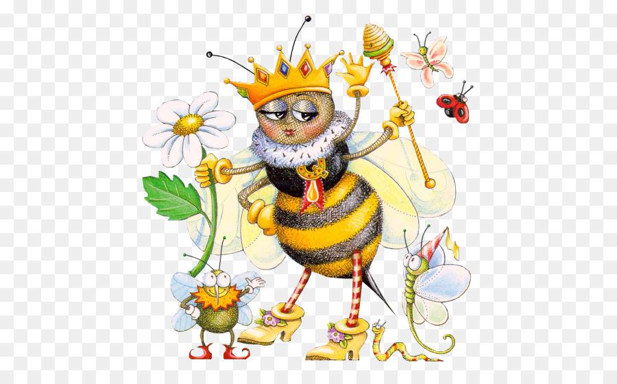 Смешная картинка пчелки труженицы