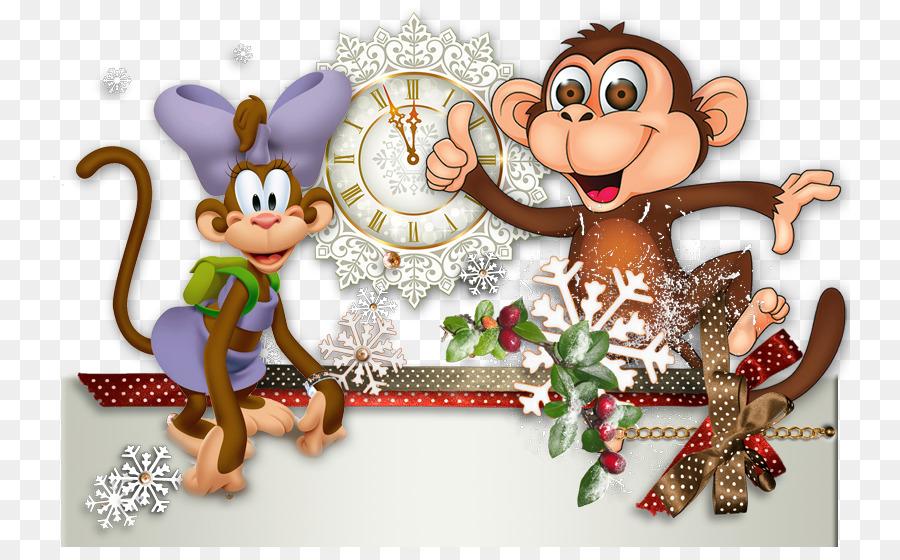 красивые открытки с обезьянами сравнение