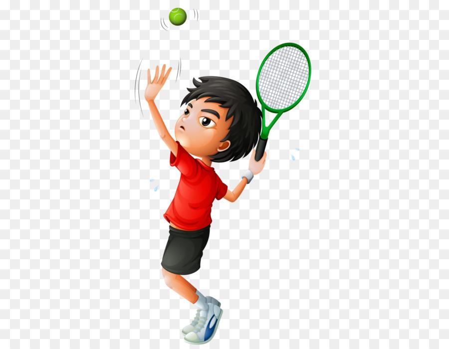 Теннис для детей в картинках