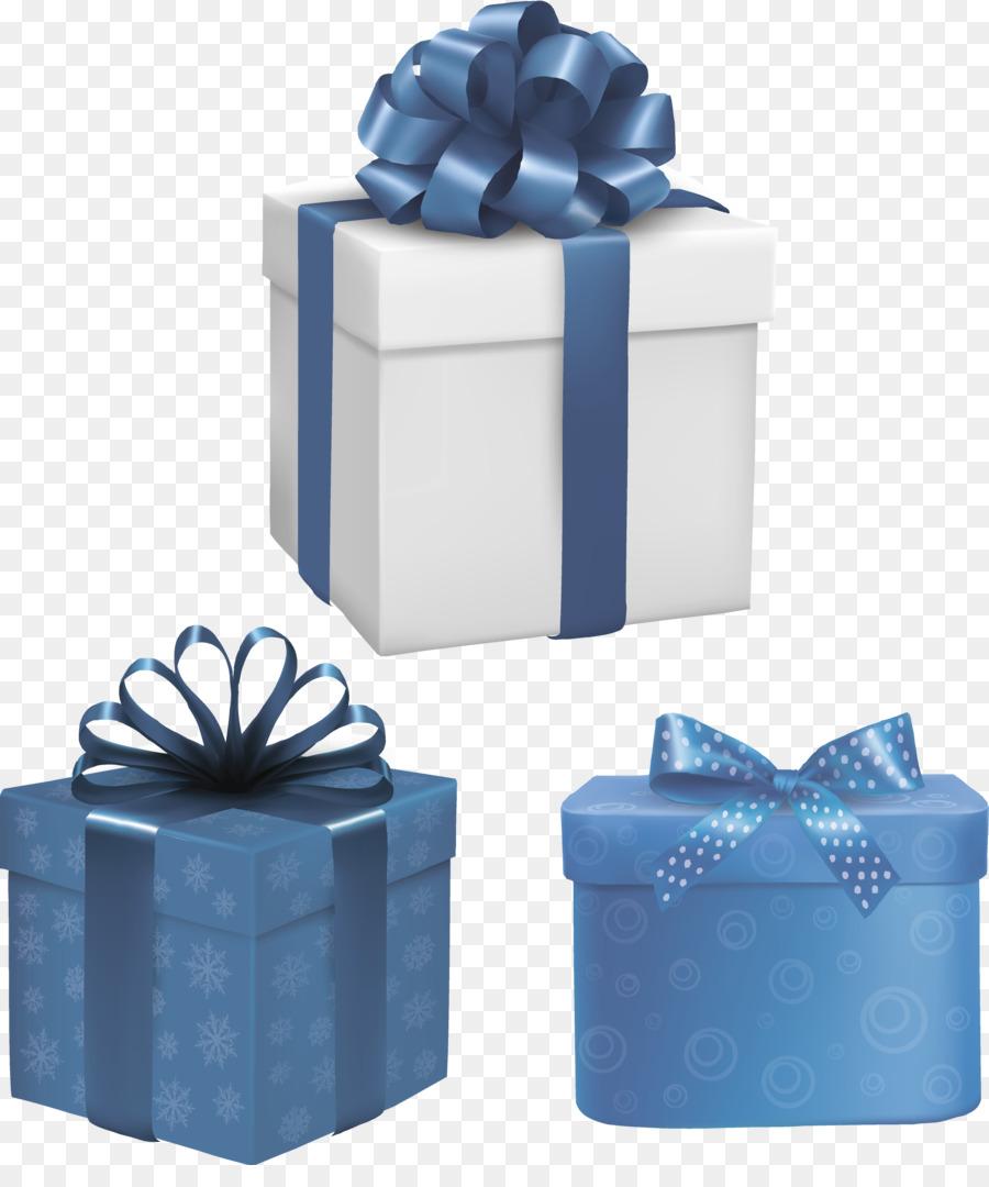 картинка голубой подарок наше