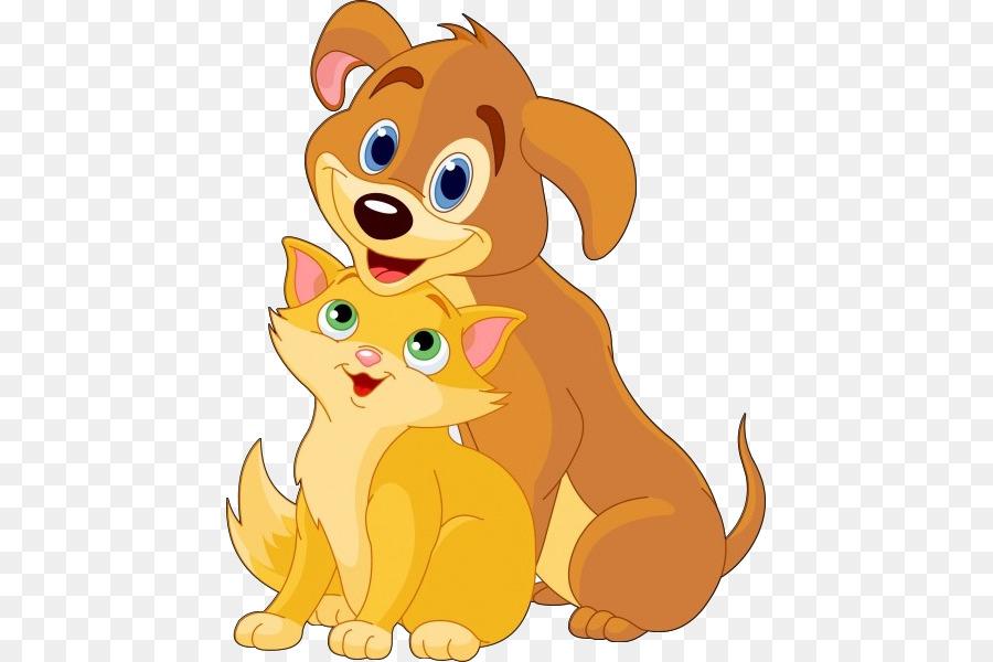 Картинки котиков и собачек мультяшных