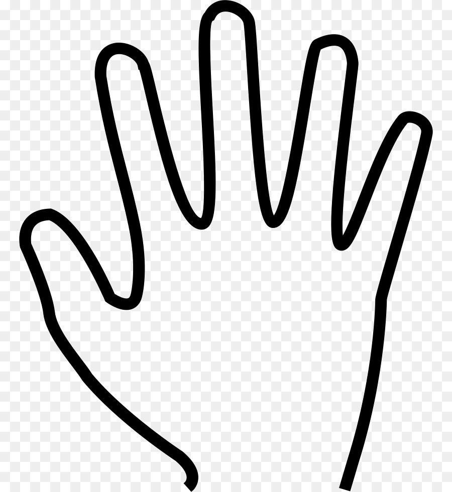 Силуэт руки картинки для детей