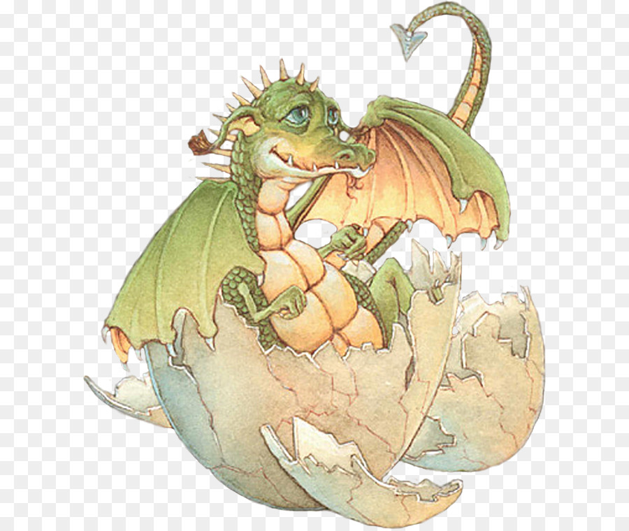 С днем рождения открытка с драконом