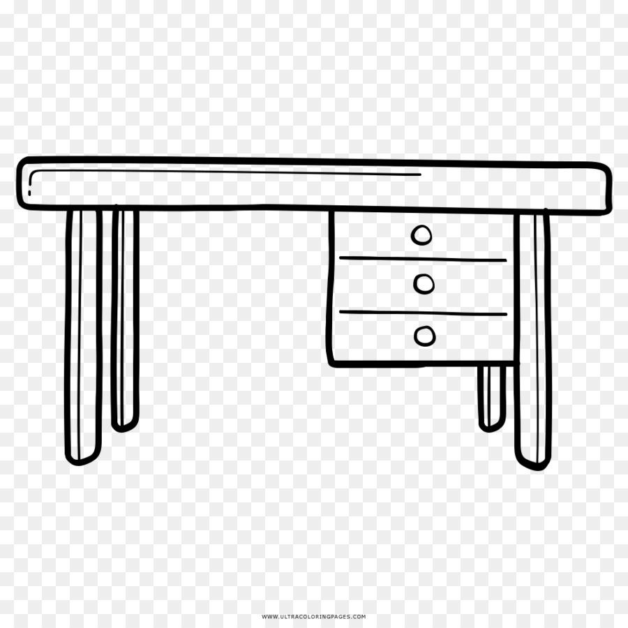 Рисунок стол письменный со стулом