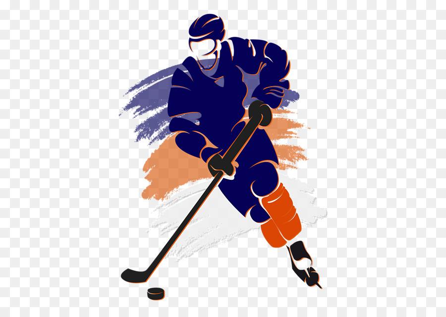 Хоккей в картинках на прозрачном фоне, днем
