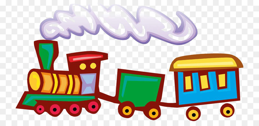 одной паровоз с вагонами рисунок на прозрачном фоне сказать