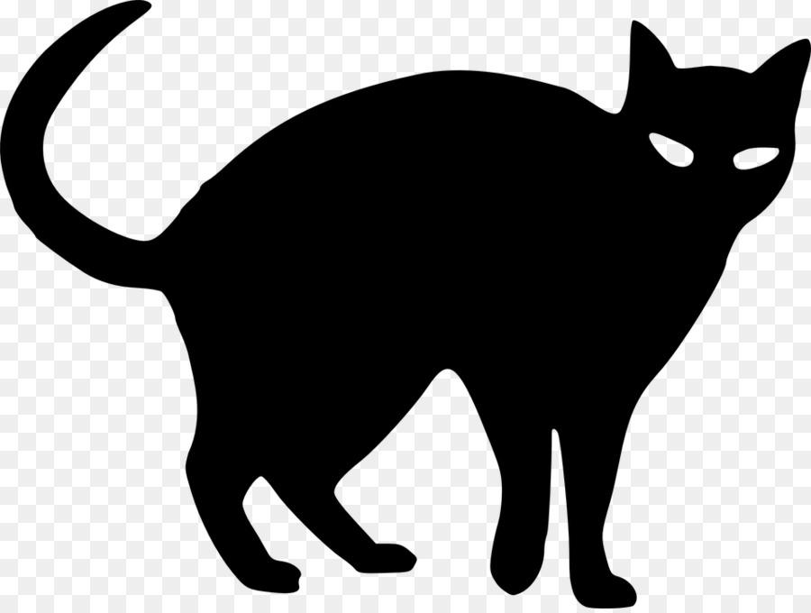 Черные кошки рисунок