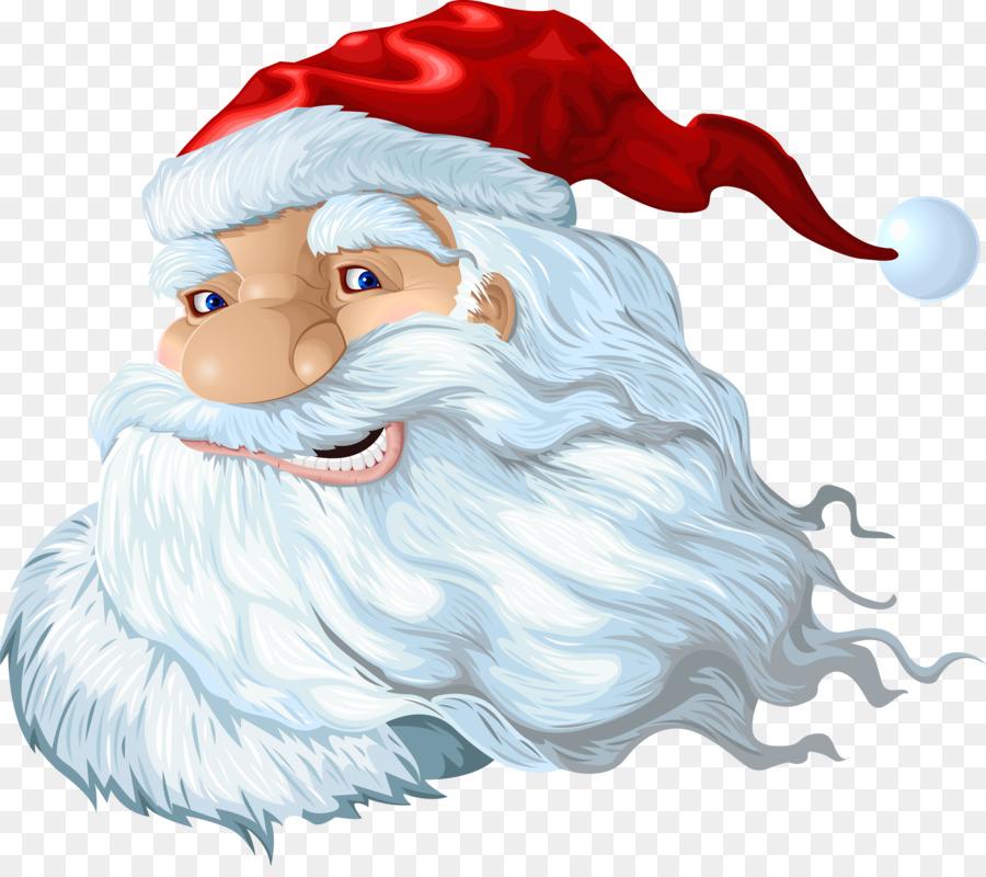 Картинка дед мороз голова на прозрачном фоне