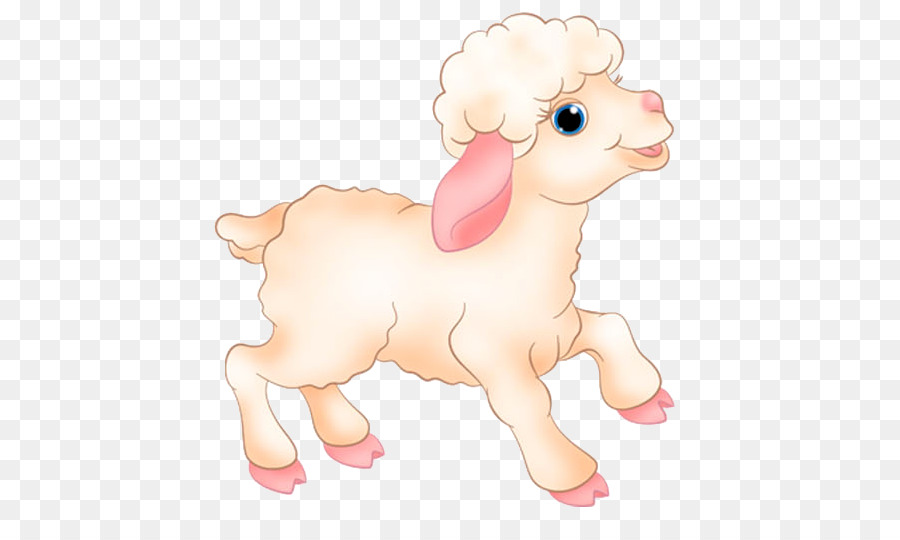 Картинка овечки для детей на прозрачном фоне