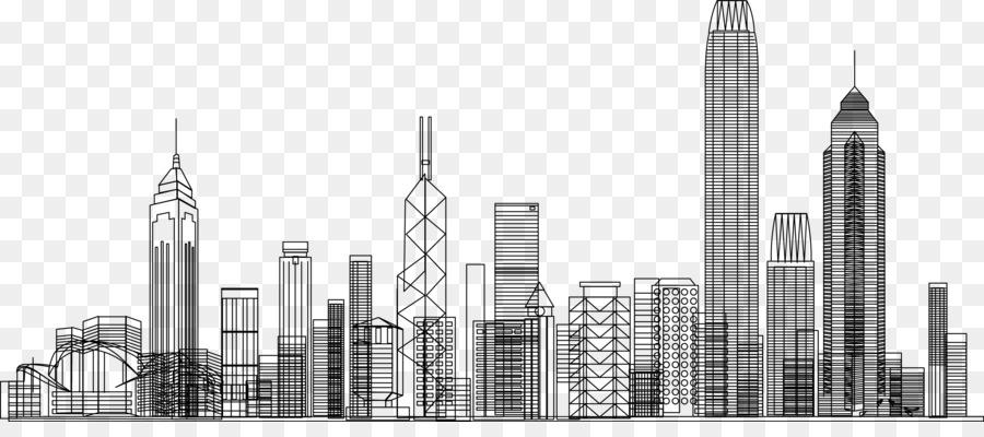Картинки нарисованные небоскребы