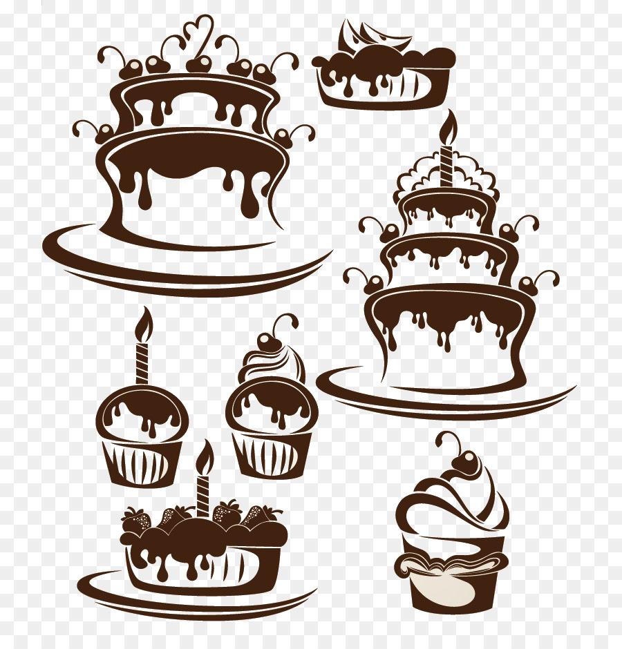 тип силуэтная картинка торта счастью, джигана