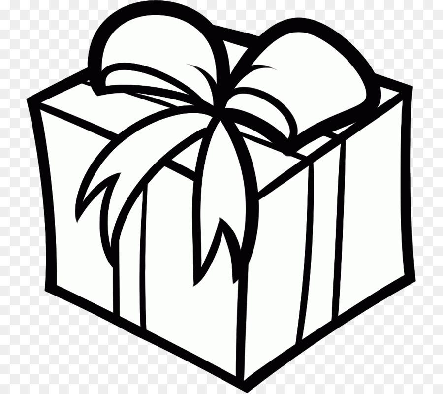 Коробка с подарком рисунок