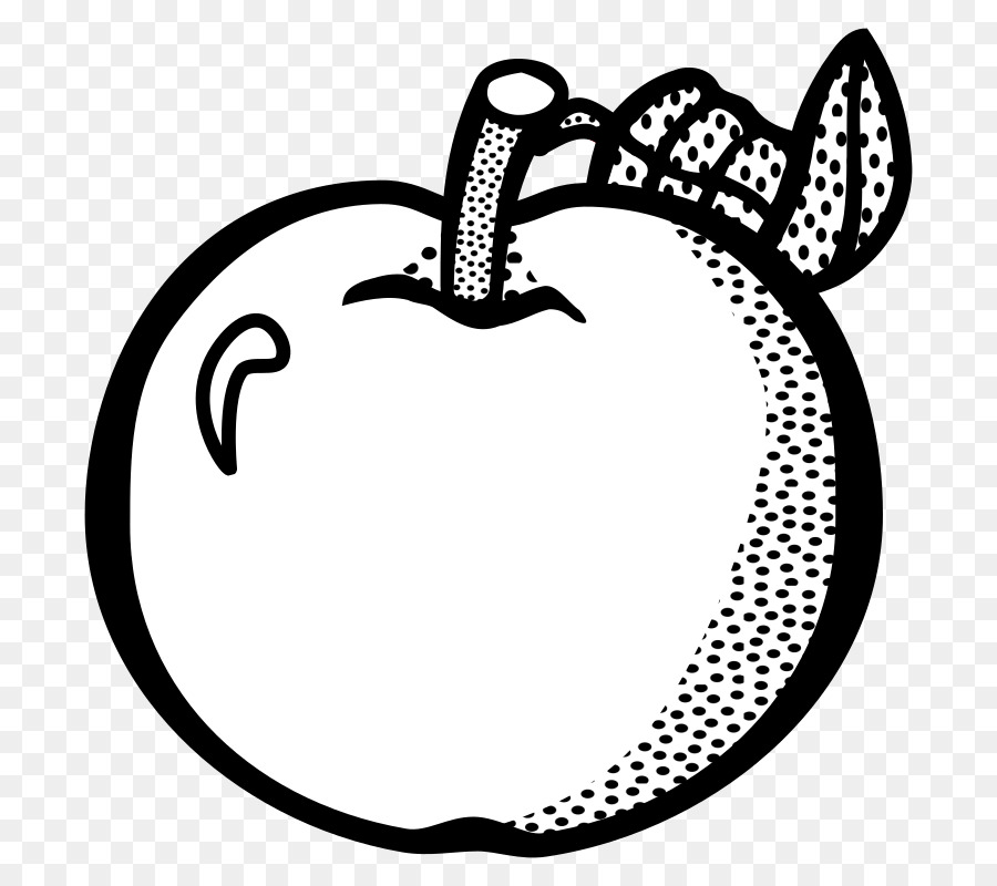 Черно белые картинки яблок да