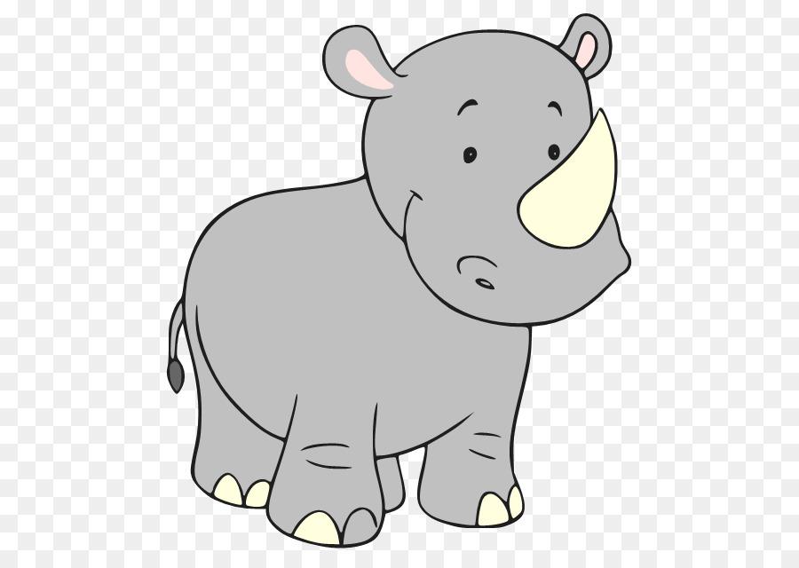 Носорог картинка для детей нарисованные