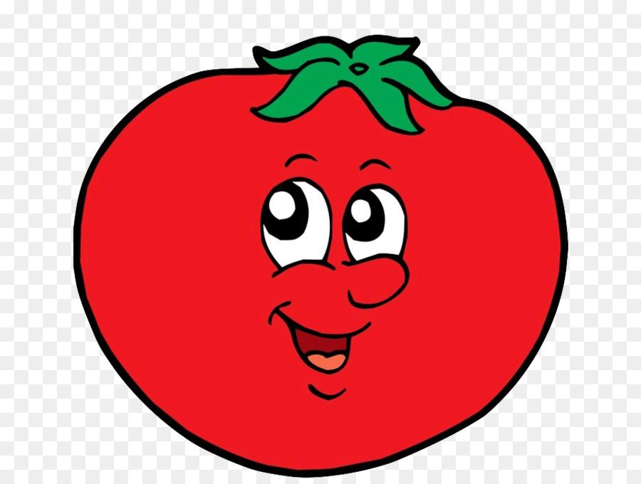 Рисунок смешного помидора, стихами юбилею