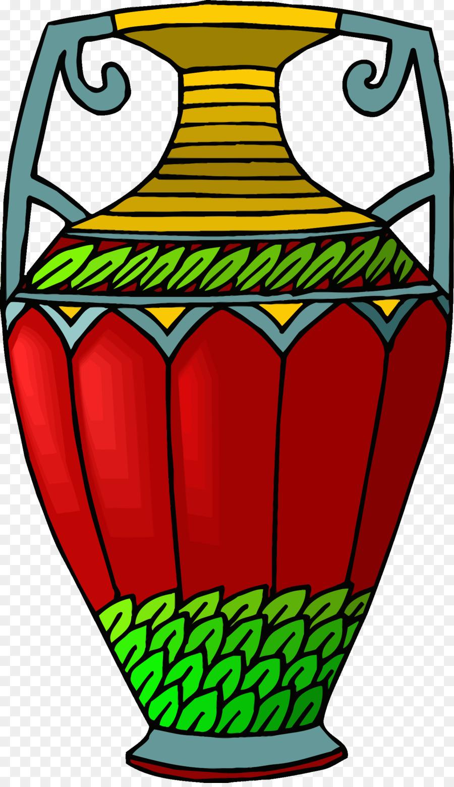 Детские рисунки вазы