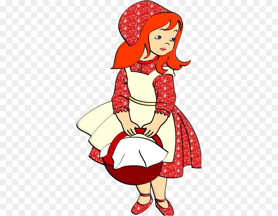красная шапочка анимация на прозрачном фоне