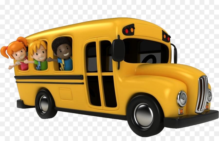Картинка для детей школьный автобус