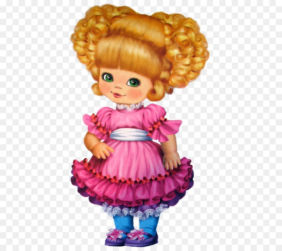 картинка мультяшная с куклами строится
