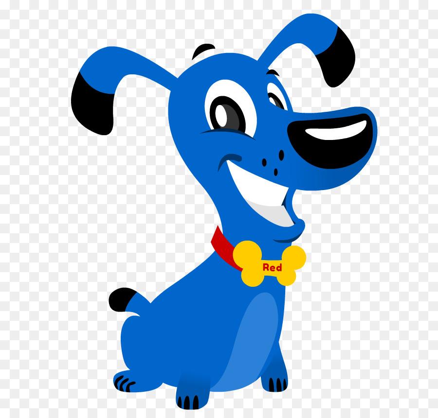 Картинки синих собак
