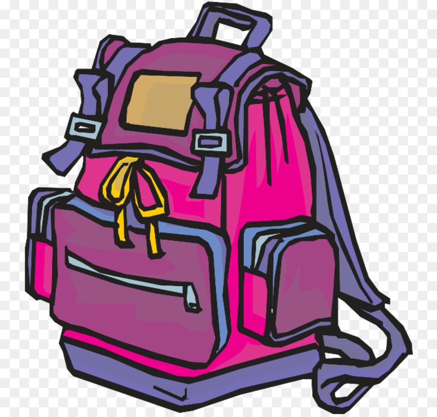 Картинка рюкзака нарисованный