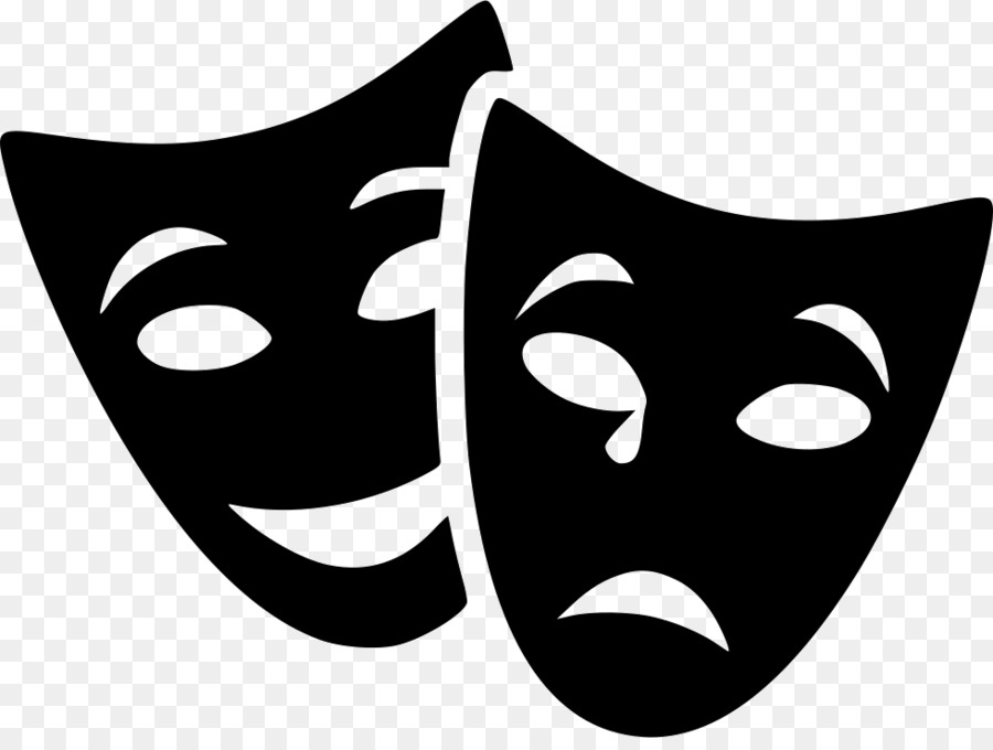 маска театральная символ театра картинки шаблон травяное