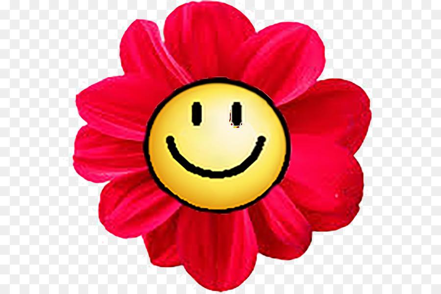 Картинки цветов смайликов