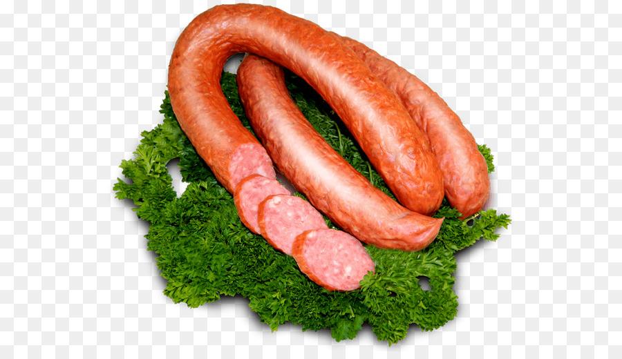 Картинка колбаса на белом фоне