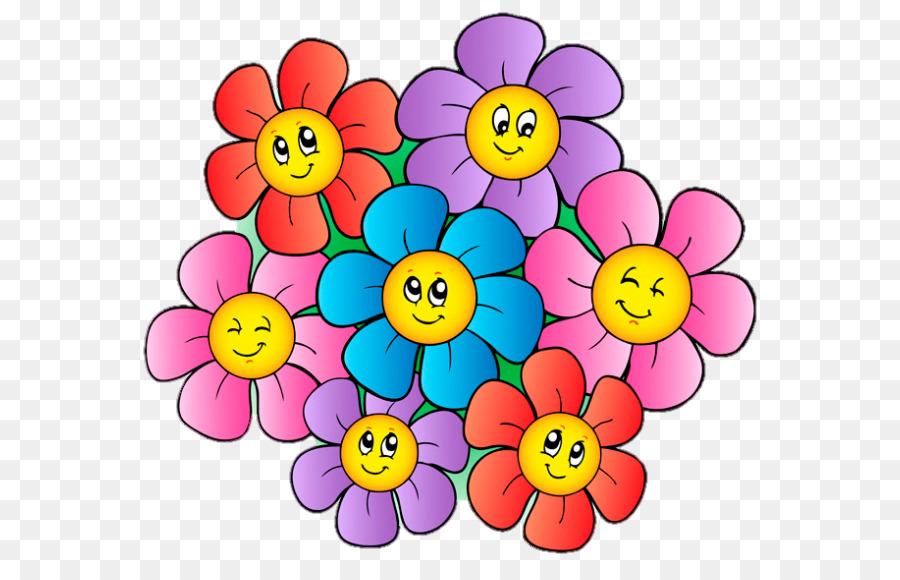 Веселые картинки цветочки