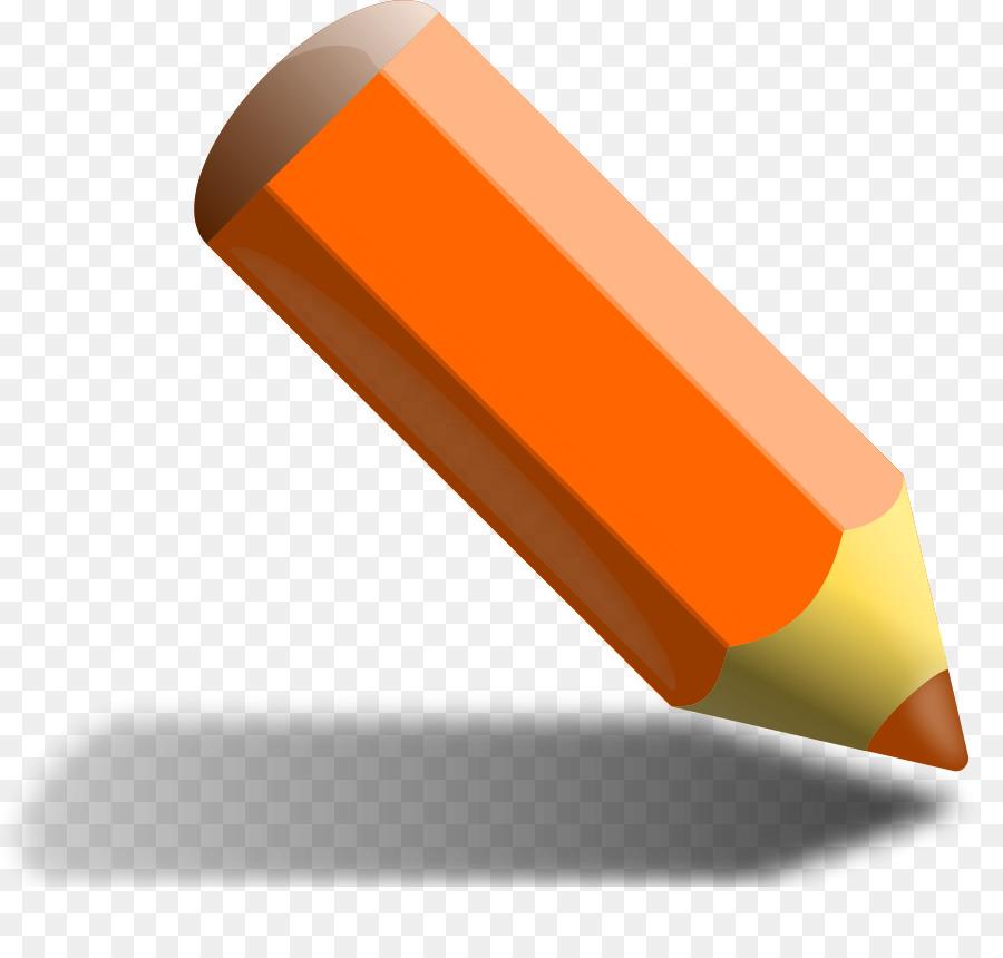 многих картинка оранжевого карандаша можно