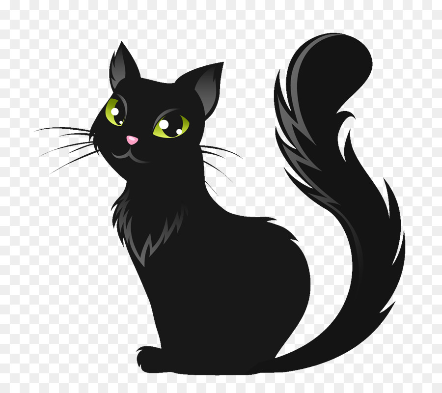 Картинки черные кошки для детей