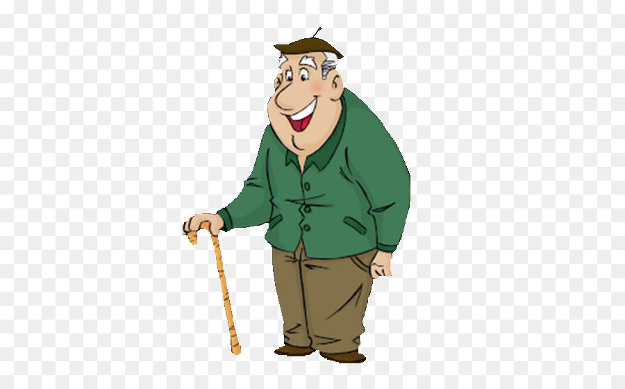 Прорезью, смешной рисунок дедушки