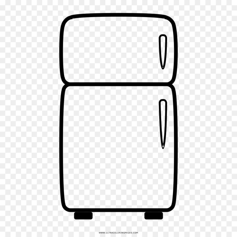 картинка холодильника для раскраски этой