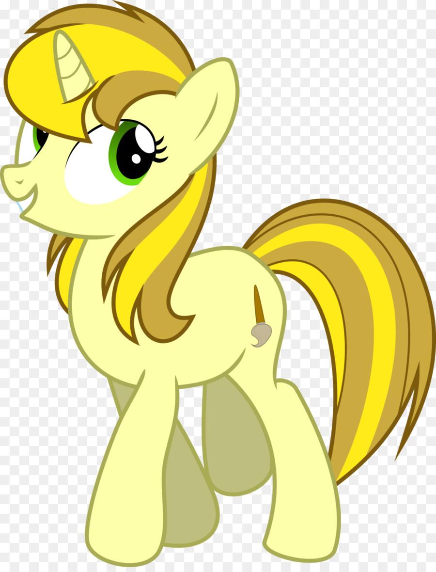 Картинки желтого пони