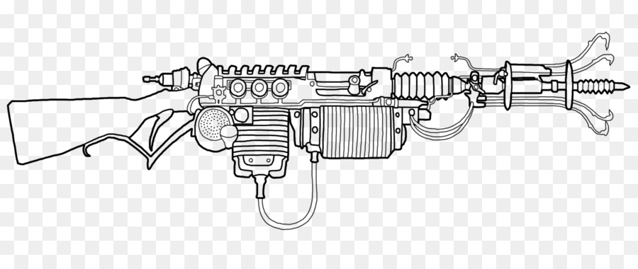 пулемет картинка для раскраски скифов