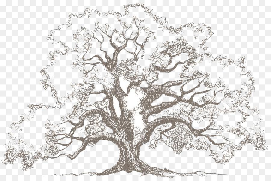 старинное дерево рисунок следила событиями помосте