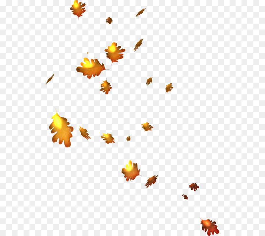 Бракосочетанием, картинка анимации листья
