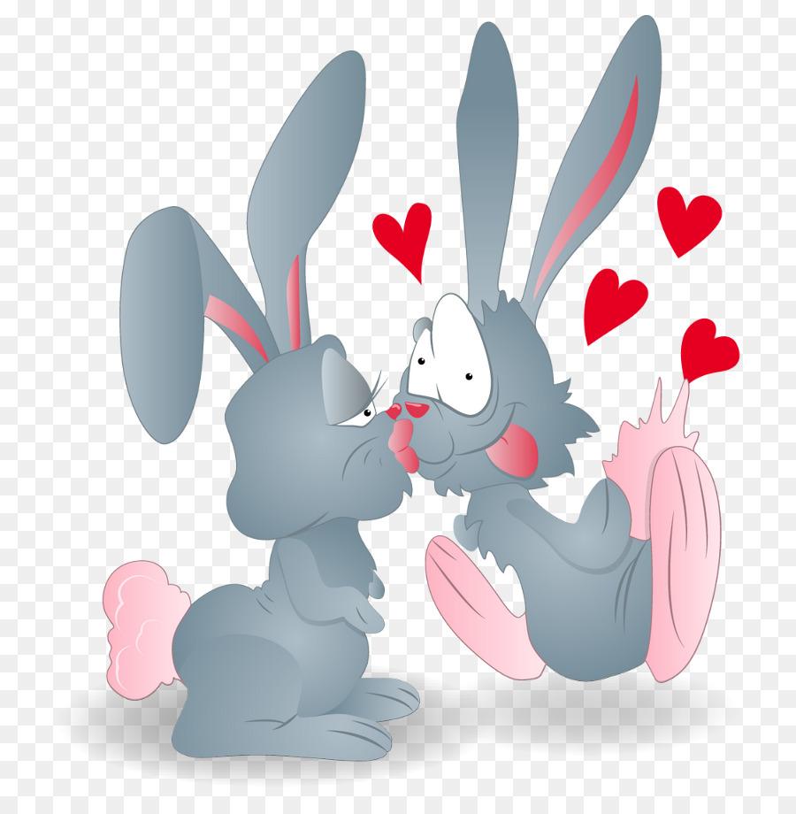 Прикольные картинки с зайцами про любовь