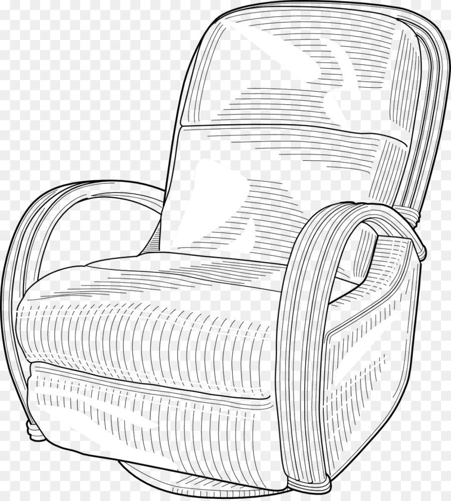 Картинки кресло как рисовать