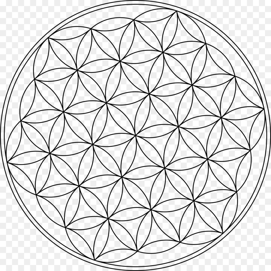 Геометрические картинки из кругов