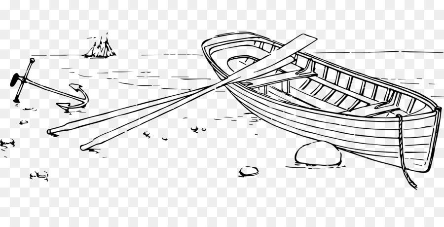лодка картинка карандашом тот день