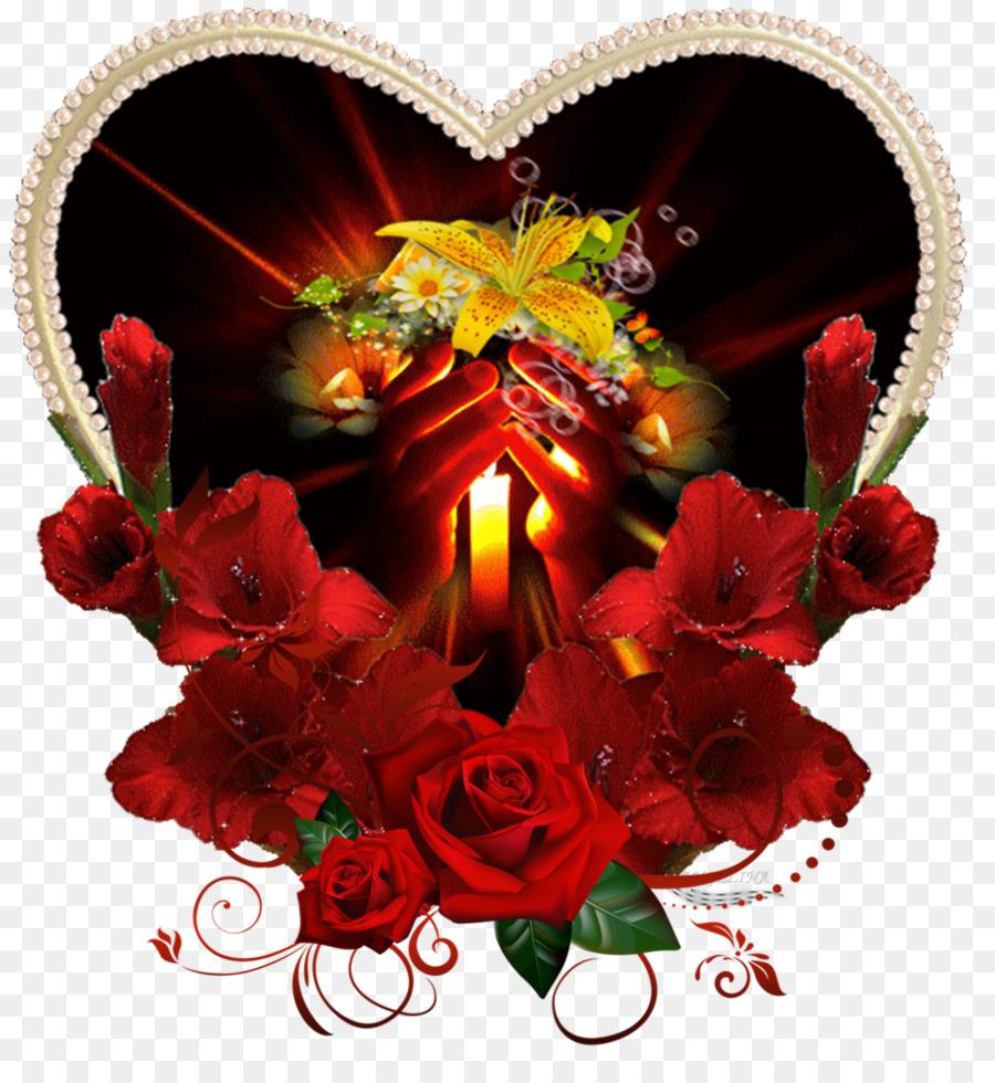 для анимация фото цветок любви наступает