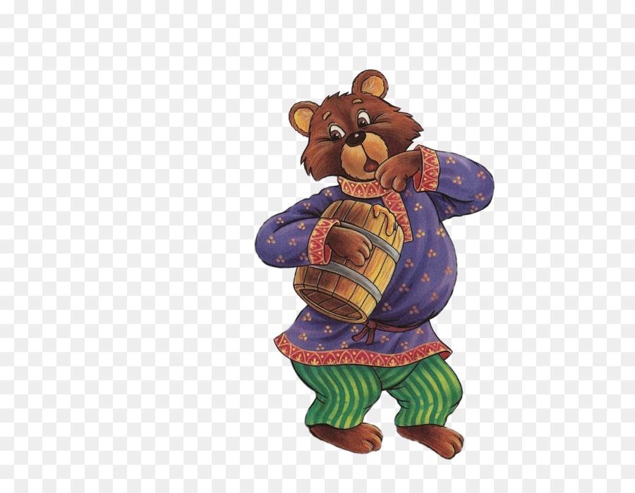 Картинка персонажа сказки теремок медведя