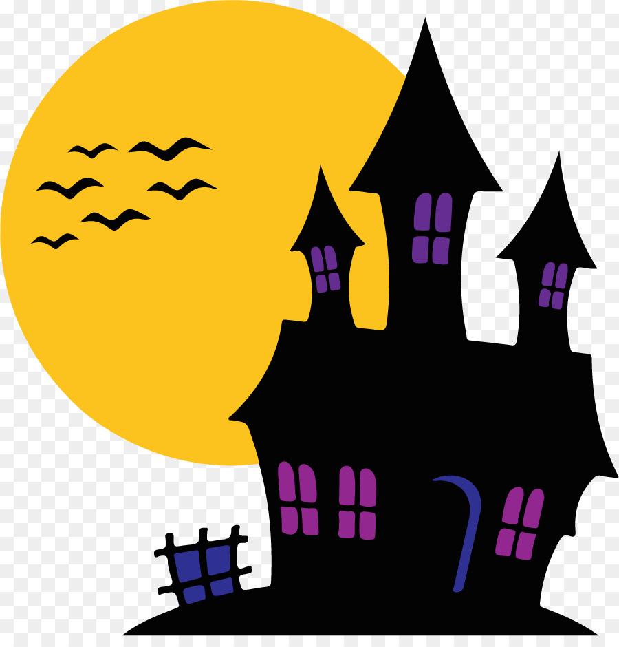 замок фиолетовой колдуньи рисунок простым