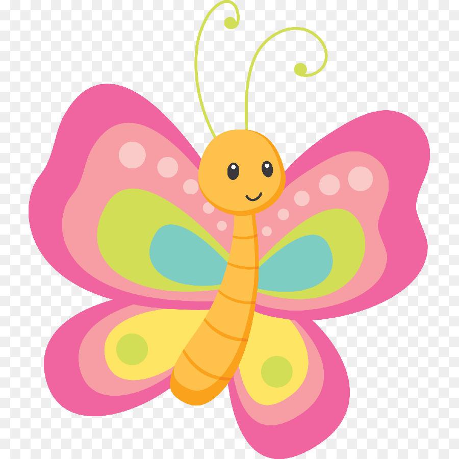 Детская картинка нарисованная бабочка
